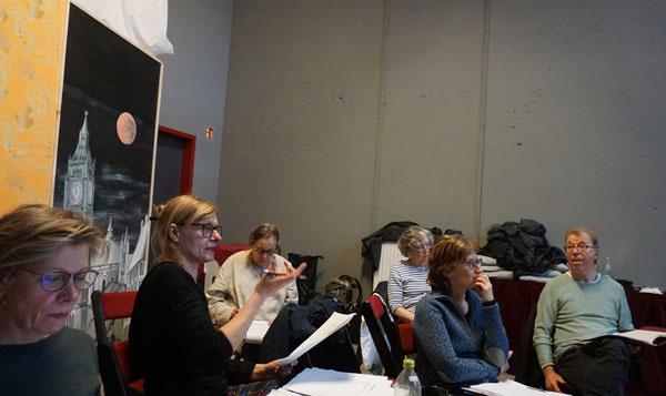 theater plan B aus Bremen - Probe